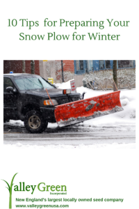 10 Tips for getting your snow plow ready for winter