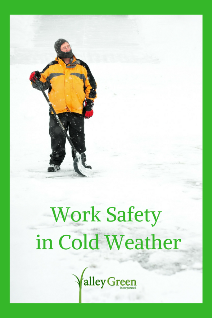 Work safety in cold weather