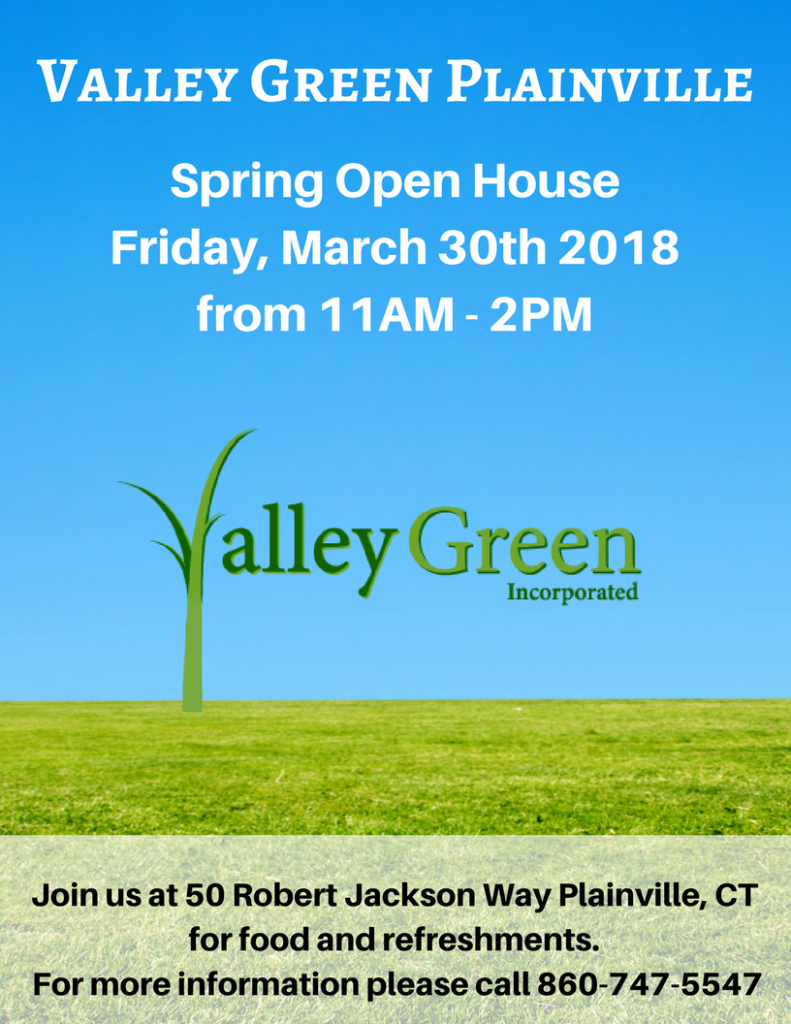 valley green plainville spring open house