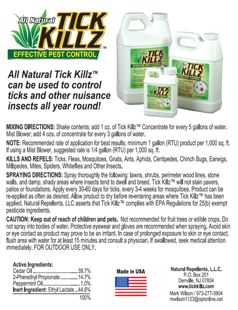 Tick Killz: Organic Tick Repellent