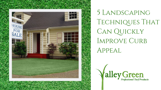 5 Landscaping Techniques That Can Quickly Improve Curb Appeal