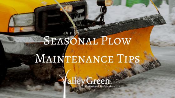 Seasonal Plow Maintenance Tips