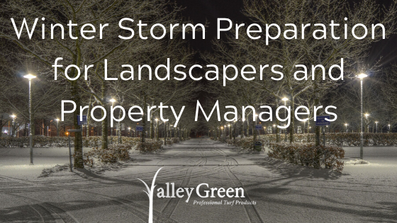Winter Storm Preparation for Landscapers and Property Managers