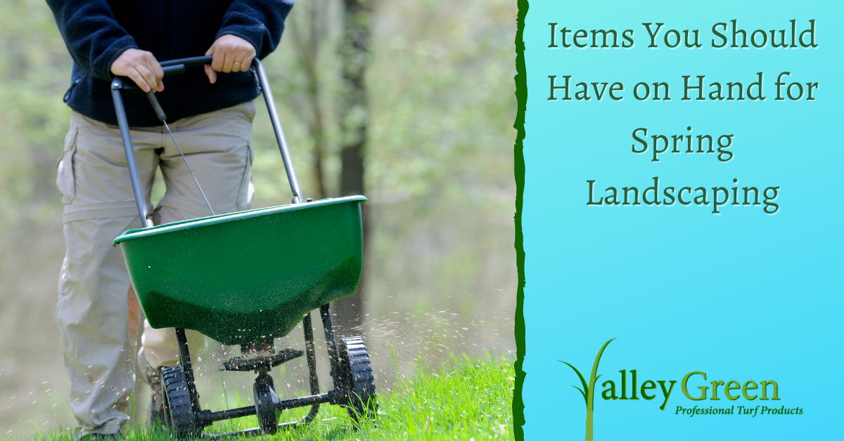 Items You Should Have on Hand for Spring Landscaping